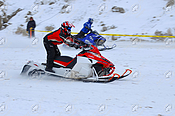 Snowmobile Drag Racing