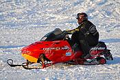 Red Ski-Doo Formula 500
